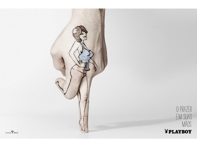 Un doigt de plaisir - Playboy