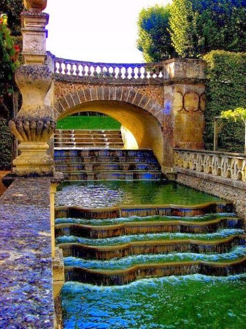 Waterfall Garden, Villandry, France