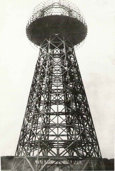 Tesla Tower...Wonder if I can I build one in my back garden??