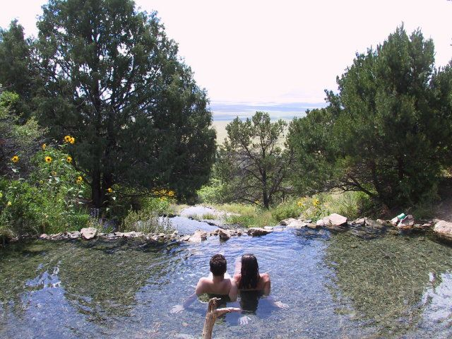 Valley View Hot Springs- clothing optional ;) looks beautiful. hiking, springs, pools, cabins or rooms, etc.