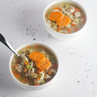 4 PF WW Style Libre. Donne 4 portions. Depuis longtemps, la meilleure recette de soupe «poulet» et nouilles que j'ai essayée. Le bouillon est savoureux, la soupe est …
