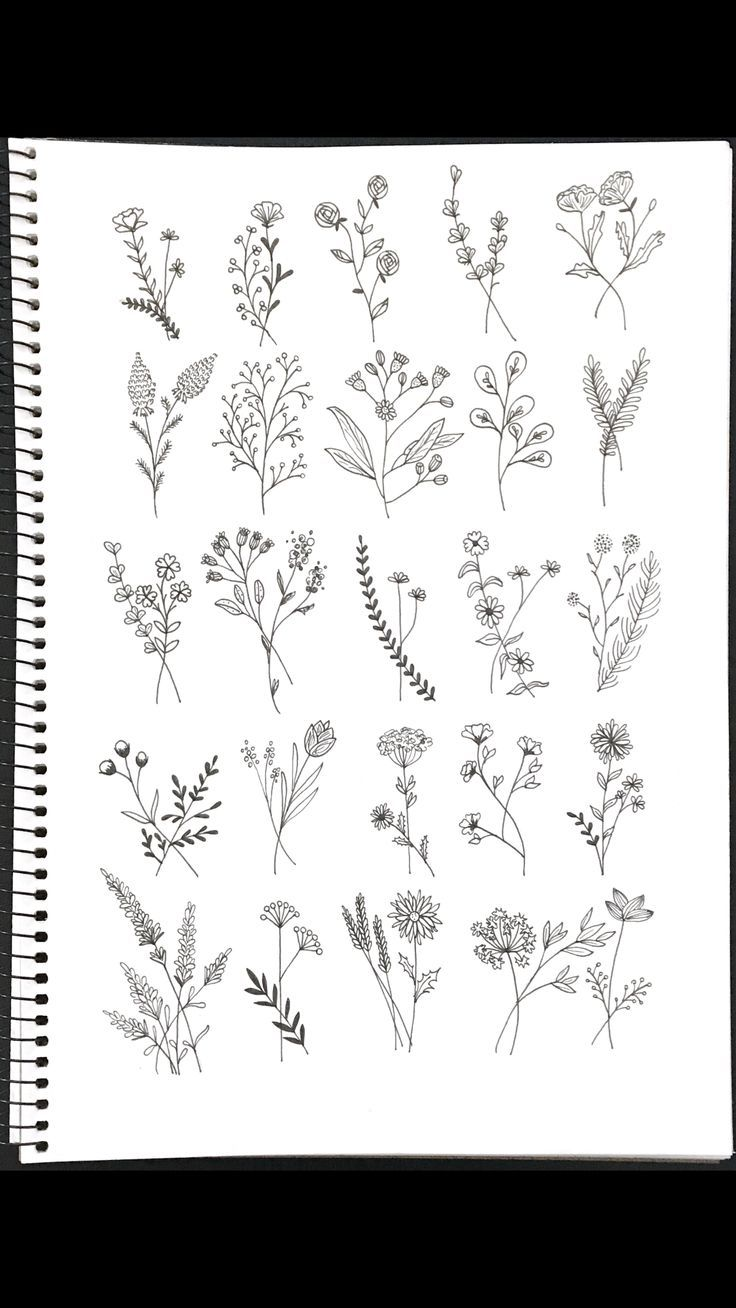 Wildflower tattoo ideas #smallflowertattoos