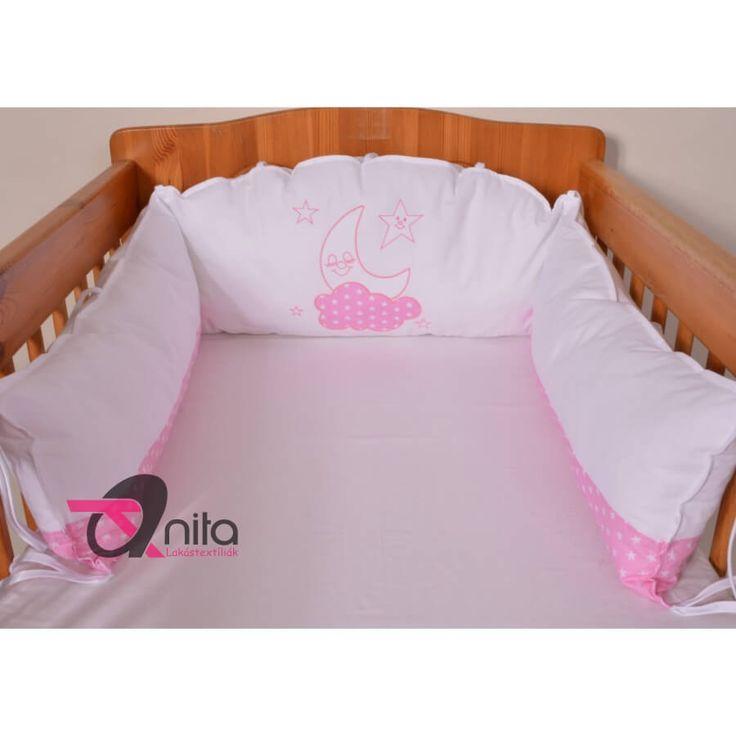 """""""Pufika"""" hímzett fejvédő íves kivitelben fehér - 12541 rózsaszín - Megnézem!"""