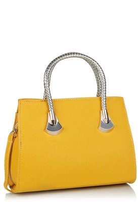 Ladida Yellow Handbag