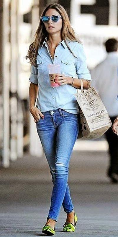 Tendência que eu amo: Total Jeans | Blog da Sophia Abrahão