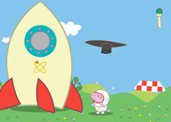 JuegosdePeppa.com - Juego: Cohete de George Online Juegos Peppa Gratis Online