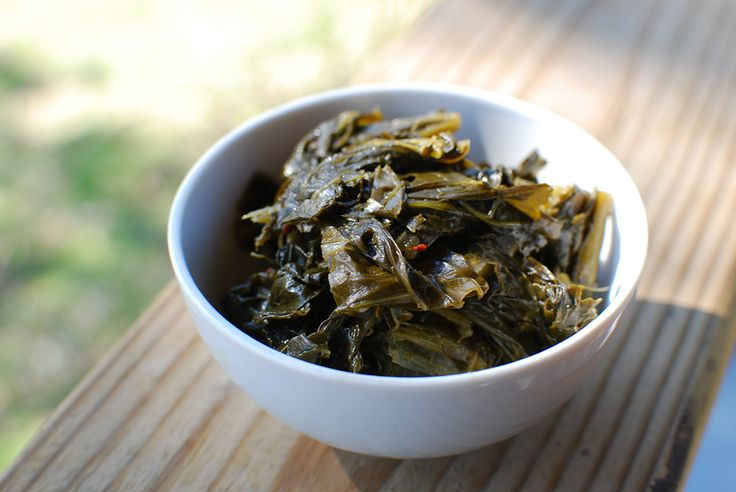 Southern Turnip Greens Recipe - as served in the Loveless Cafe, Nashville TN