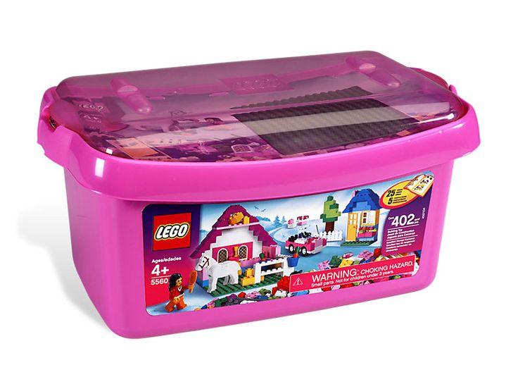 LEGO® Large Pink Brick Box