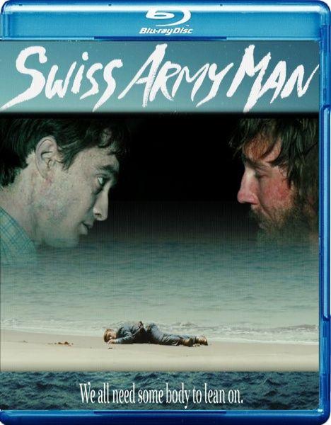 Человек - швейцарский нож / Swiss Army Man (2016/BDRemux/BDRip/HDRip)  Хэнк, отчаявшись выбраться с малюсенького необитаемого острова, пытается повеситься. Потерпев неудачу, он находит у кромки воды вынесенное прибоем тело и убеждается, что молодой человек мёртв. Не успев окончательно потерять всякую надежду, Хэнк понимает, что может использовать избыток кишечных газов трупа как двигатель-водомёт, а само тело — как водный мотоцикл. В результате он выбирается с острова самым неожиданным…