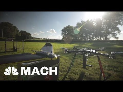 NBC News: A Drone That's On A Mission To Plant One Billion Trees | Mach