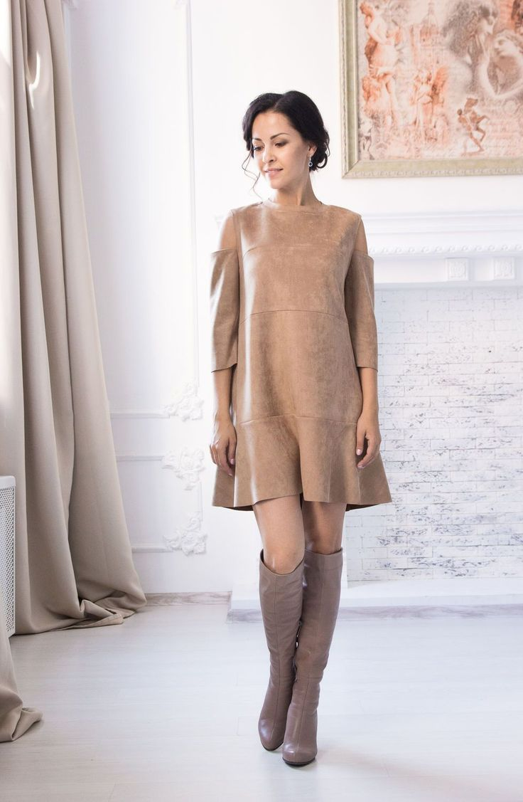 awesome Красивое коричневое платье (50 фото) — С чем носить, как выбрать украшения? Читай больше http://avrorra.com/korichnevoe-plate-foto-s-chem-nosit/