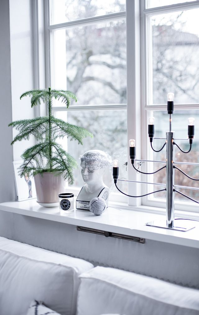Christmas window decoration | The House of Philia, December 2013 [Original post in Swedish]