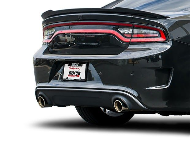 charger hellcat exhaust systems