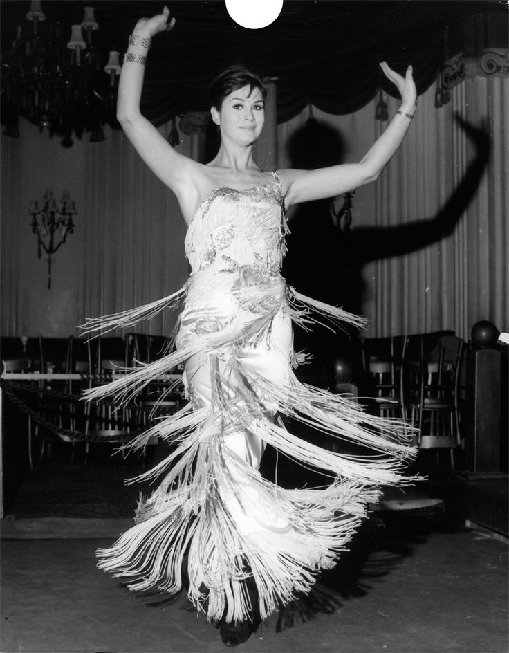 Born name was George,he became: April Ashley. 1962 photo (Keystone/Getty Images) frindge dress is so nice when you dance. Claire-Yumi