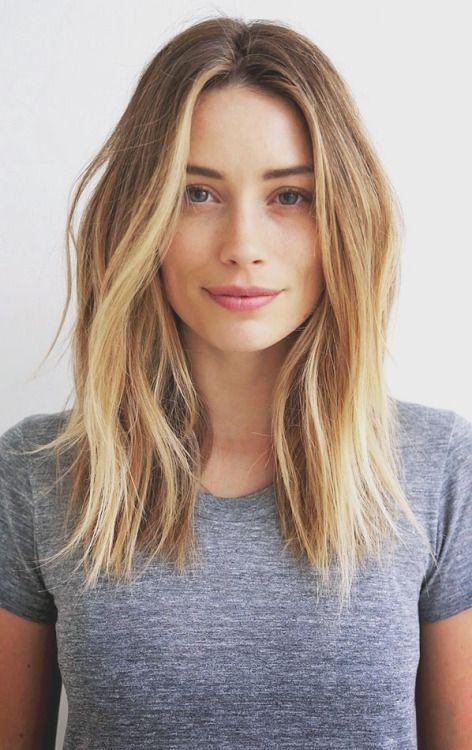 Blonde Girl Hairstyle : Best 25 medium length blonde ideas on pinterest