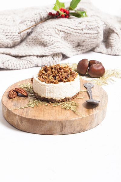 mini cheesecake sans cuisson la cr me de marron noix de p can caram lis es au mascarpone et. Black Bedroom Furniture Sets. Home Design Ideas