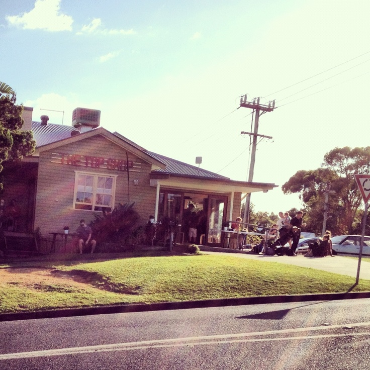 The Top Shop- Great place for #breaky in #byronbay #australia #food #coffee