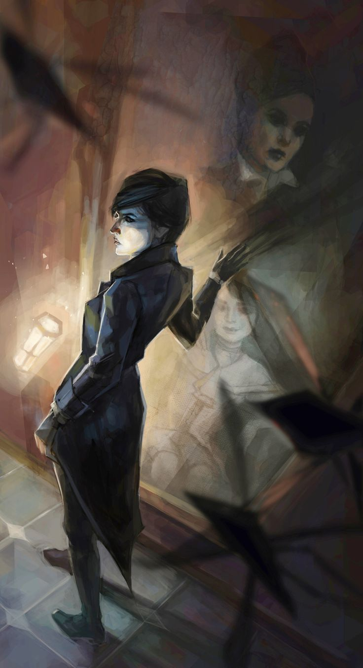 Dishonored 2 Fan Art // Emily Kaldwin