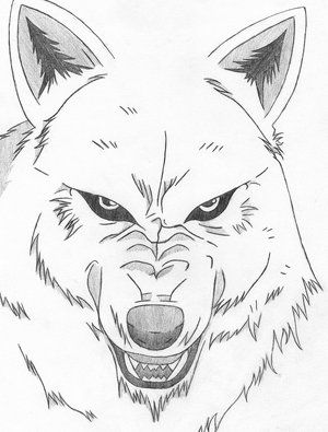 wolf rain coloring pages - photo#43