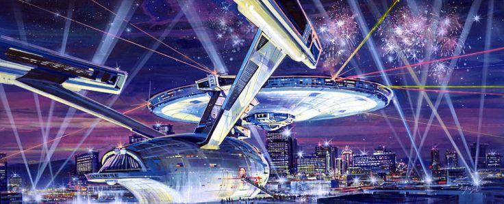 Bocetos de una obra épica inacabada: construir la Enterprise de Star Trek a escala natural