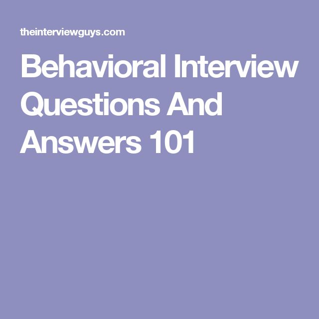 Best 25 Behavioral interview ideas on Pinterest  It interview questions Job interview answers