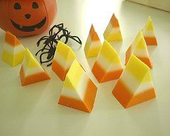 halloween party favors for mom candycorn soap - Diy Halloween Favors