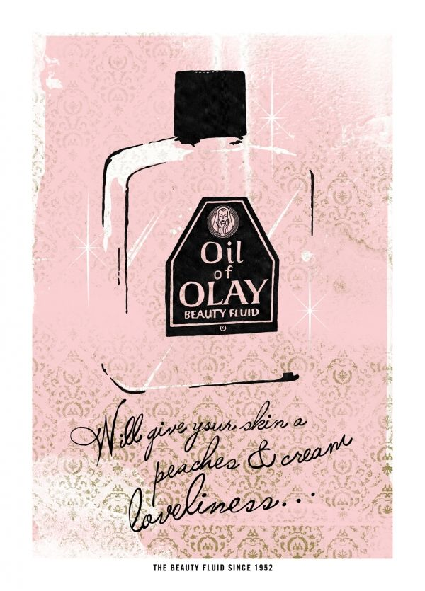 Oil of Olay by Tommy Sheehan - fantastic product - no wonder it's lasted through generations!