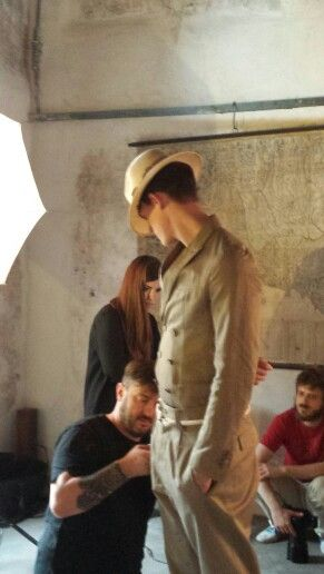 Calcaterra_man #backstage #SS2015