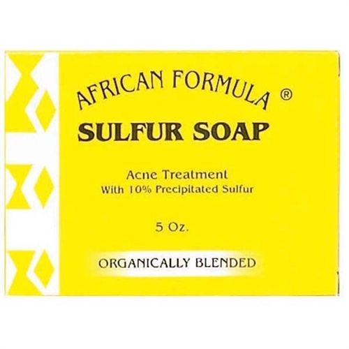 Luxe Beauty Supply - African Formula Sulfur Soap - 3.5 oz  (http://www.lhboutique.com/african-formula-sulfur-soap-3-5-oz/) #HairCare, #luxebeautysupply, #NaturalHairCare