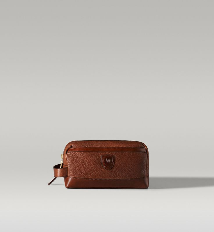 Leather Wash Bag Massimo Dutti Style Man Pinterest