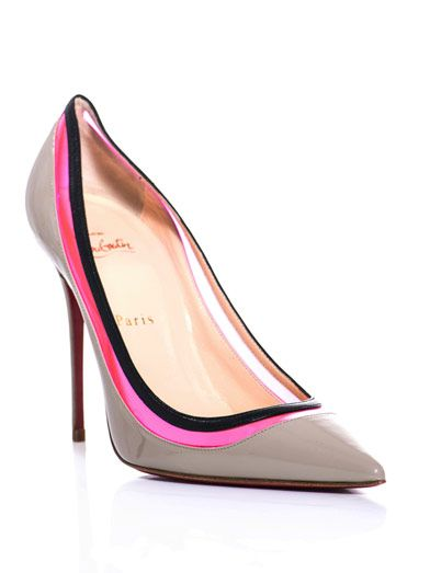 Christian Louboutin I like the pink and black pippings
