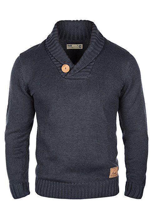 SOLID Paddy - Jerséis para Hombre, tamaño:S;color:Insignia Blue Melange (8991)