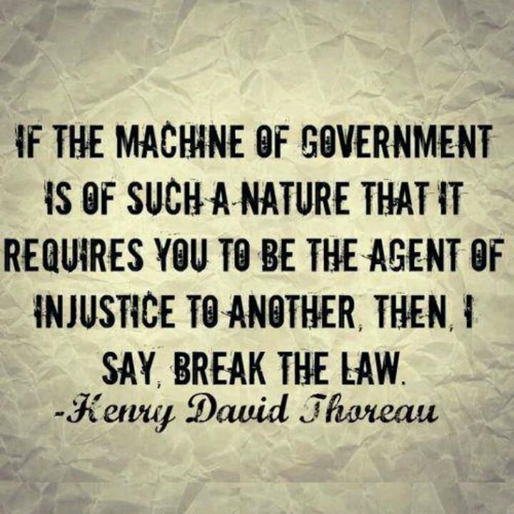 ~~Henry David Thoreau