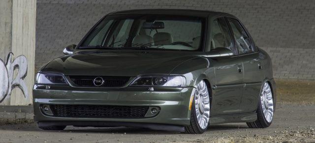 Tief ist nicht genug!: Opel Vectra im ultra-low Static-Mode