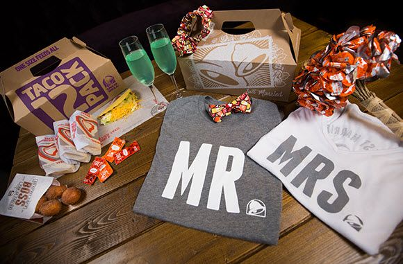 Taco Bell plans to open a wedding chapel at its Las Vegas location.