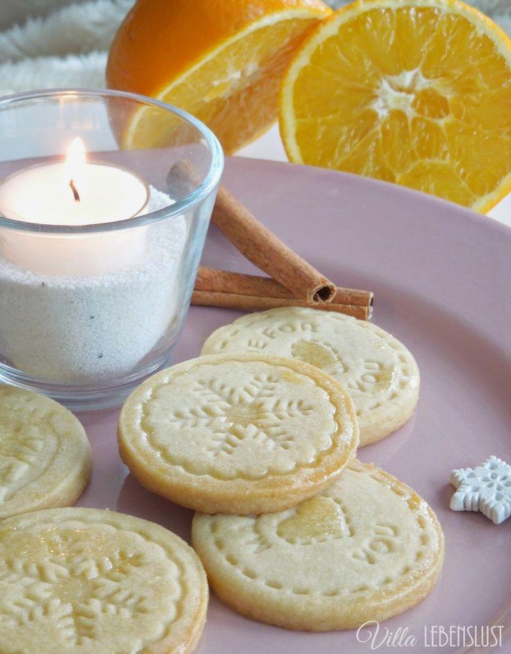 Villa Lebenslust Blog: Einfache Zimt-Orange-Kekse