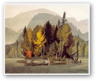 A.J. Casson Hazy October Morning