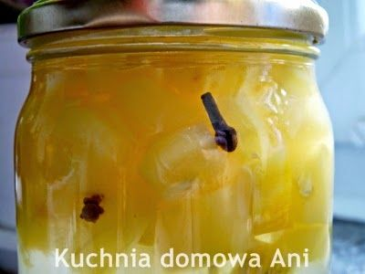 Kuchnia domowa Ani: Cukinia a'la ananas