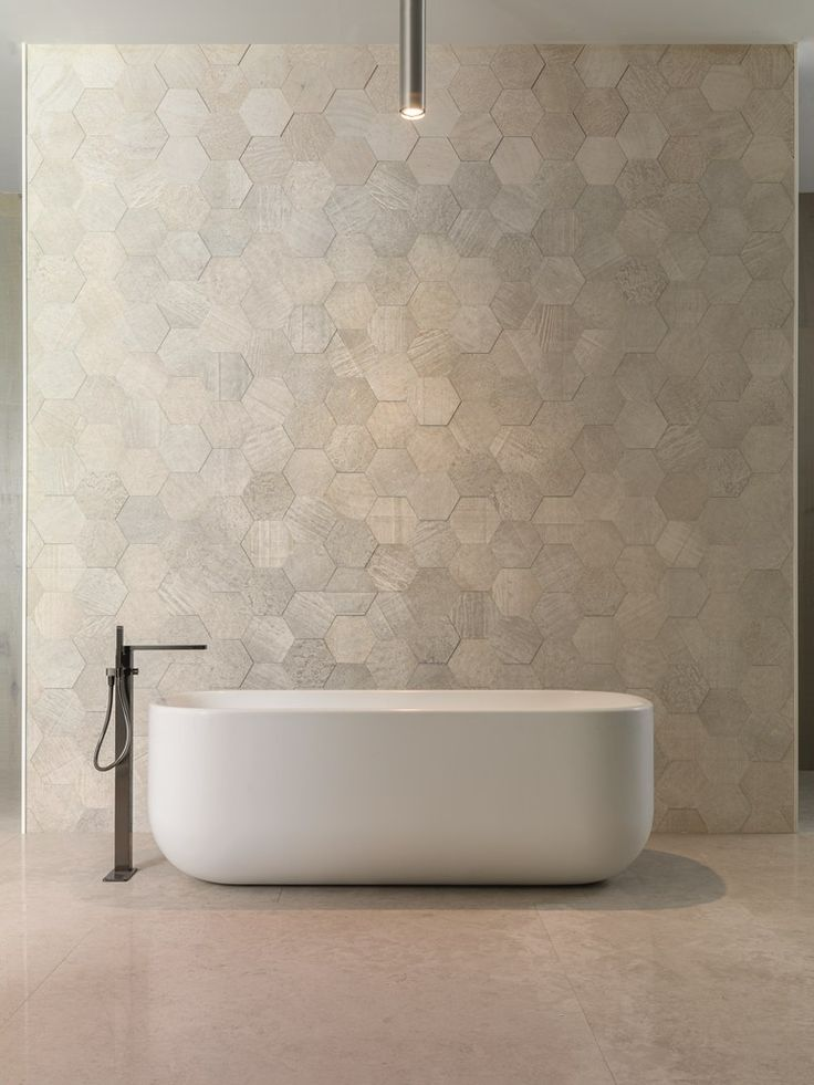 Freestanding Krion® #bathtub UNIQUE by Systempool