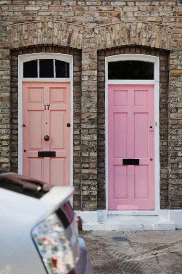 Pink Doors #colorstory