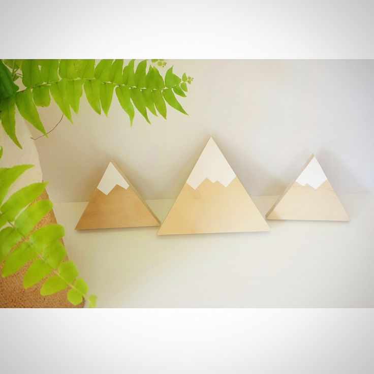 "Our Snow Capped Mountains are the cutest addition in your little adventure's bedroom. They add to the perfect little wilderness theme.Each of our wall hooks are individually hand crafted and painted in Central Victoria. Made from sustainable plywood.Available in Standard or Removable, and as an individual or in a set of 3 (1 large, 2 small). Please see options below.All of our standard wall hooks are easy to install and come with the required ""Wallmates"" nylon se..."