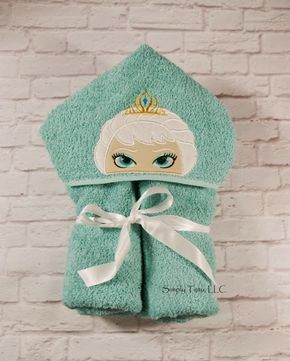 Create Kids Couture: Hooded Bath Towel Tutorial
