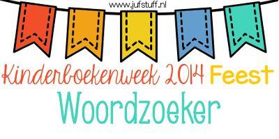 Juf-Stuff: KBW 2014: Woordzoeker en voorkant werkboekje