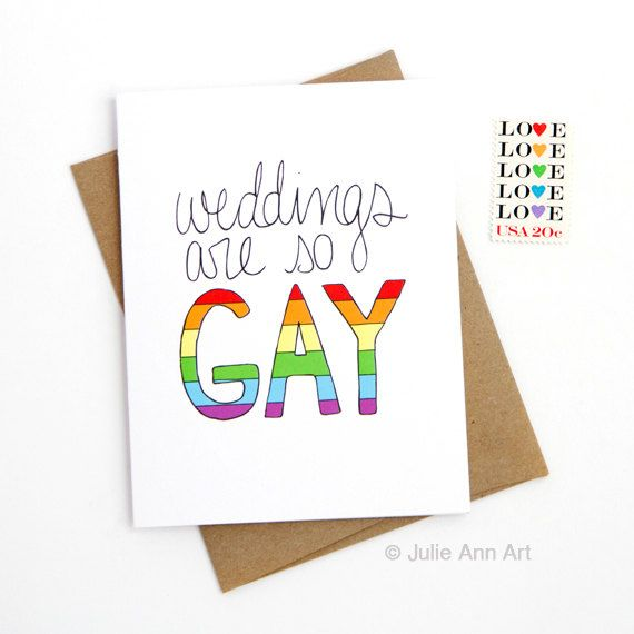 If you're part of an LGBTQ couple who wants to celebrate your identity with your VERY GAY wedding theme, this roundup of gay wedding ideas is for you!