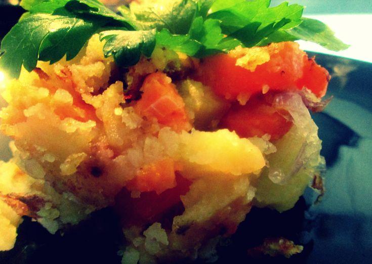 Carote e patate saltate in padella