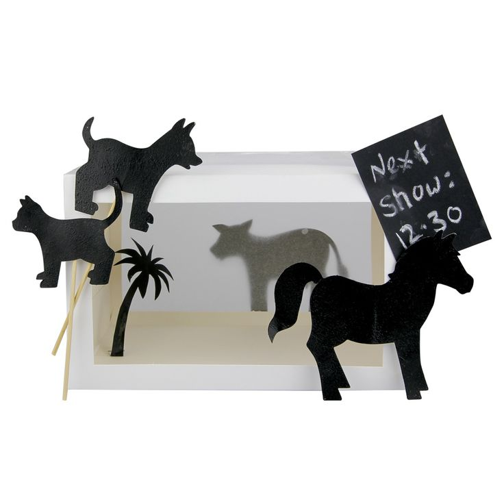 Re-create Noni the Poni's Day at the Beach with this 'Noni The Poni' Shadow Puppets craft activity!