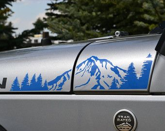 Jeep Wrangler TJ 2 Color Extended Hood with by GraphicForest