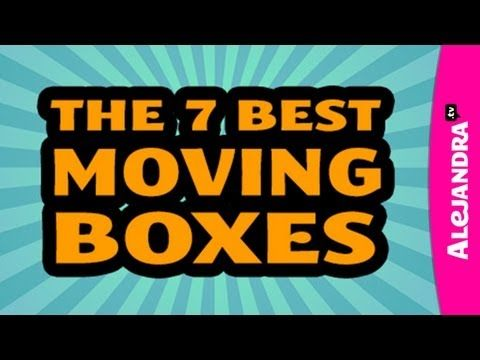 [VIDEO]: The 7 Best Types of Moving Boxes from http://www.alejandra.tv