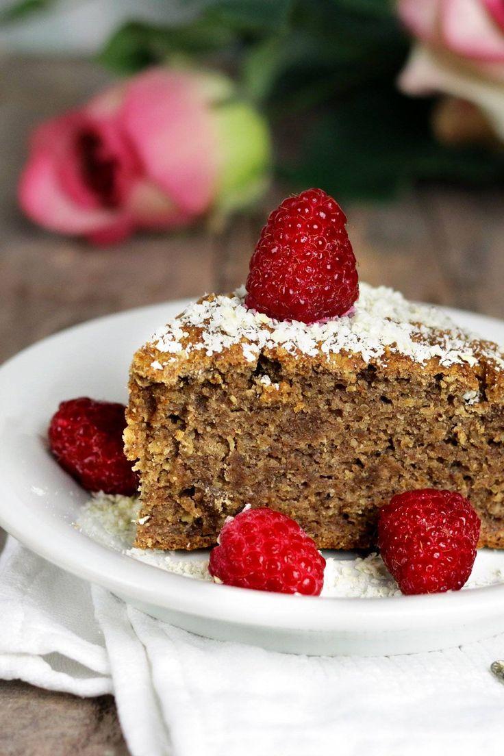 Walnuss-Orangen-Kuchen – vegan und glutenfrei