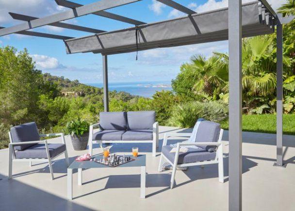 12 Salons De Jardin Quali A Prix Mini Balconies And Pergolas Throughout 20 Nouveau Photographie De Salon De Jardin Carrefour Home